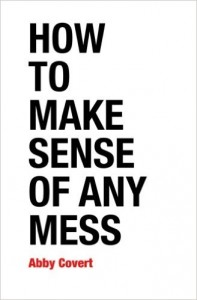 Forsiden af How to Make Sense of Any Mess - en bog om informationsarkitektur