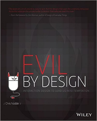 "Image of ""Evil by Design"" book"
